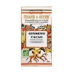 Tisane à sucer Ginseng / Cacao